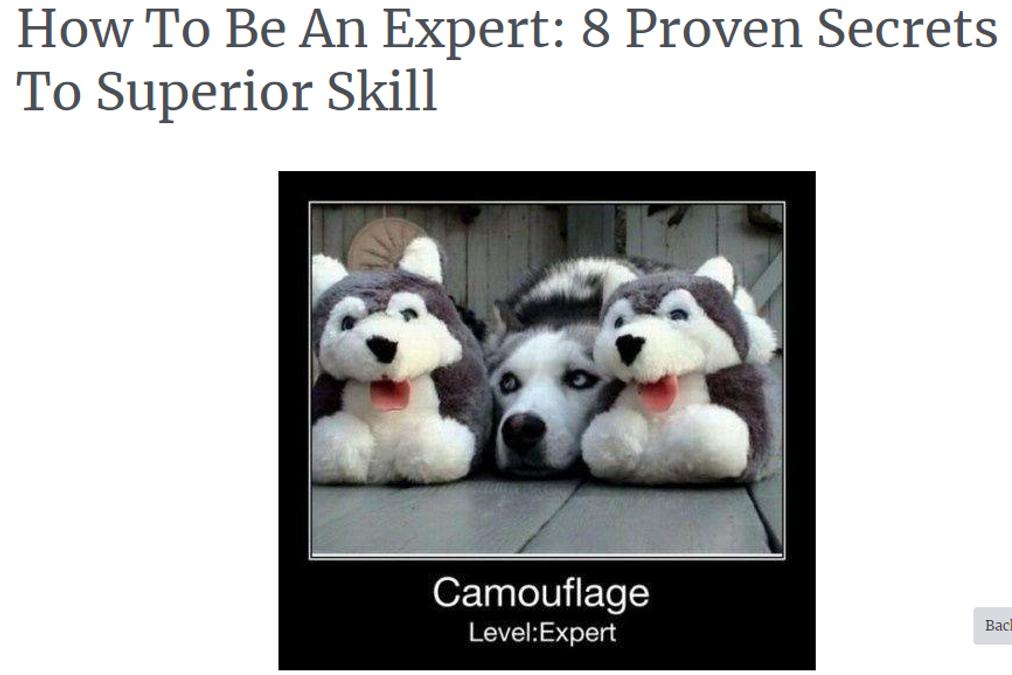 How to be an expert: Eric Barker's 8 Secrets