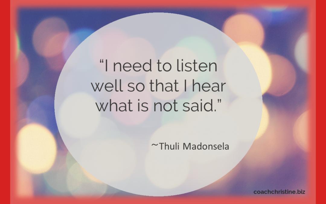 Sage Words From Notable, Award-winning Leader Thuli Madonsela